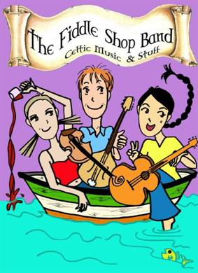 Cartoon of Fiddle Shop Band