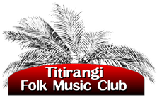 Titirangi Folk Music Club Logo
